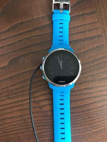 spartan sport watch blue touch screen