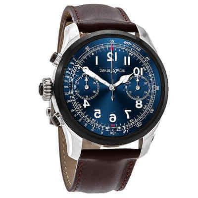 summit 2 chronograph blue dial unisex smart