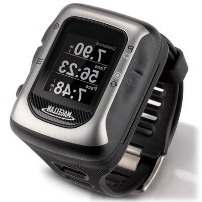 Magellan GPS Watch Mounts Heart Rate Monitor