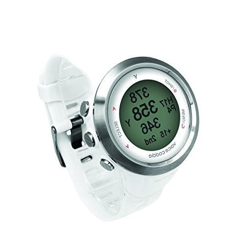 Voice T-2WH Golf GPS Digital scorecard- White