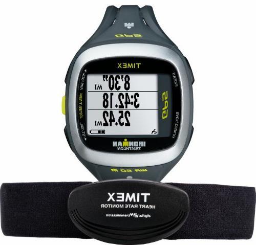 Timex Run 2.0 GPS Digital HRM & Flex Tech Chest Strap