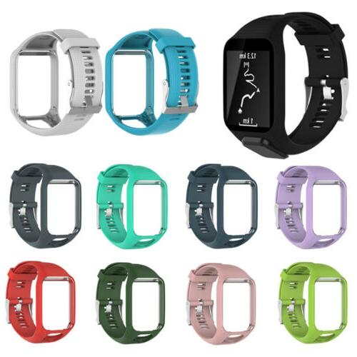 Multicolor Replacement Silicone Band Strap For TomTom Spark