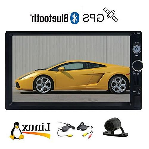 touch car mp5 player bluetooth