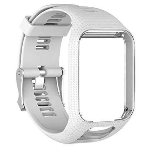 XBERSTAR TPE Wrist Bands Strap for Adventurer Golfer 2 2/3 Watch
