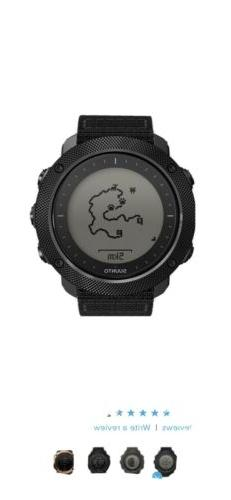 Suunto Traverse Alpha Stealth Mens GPS Outdoor Fish & Huntin