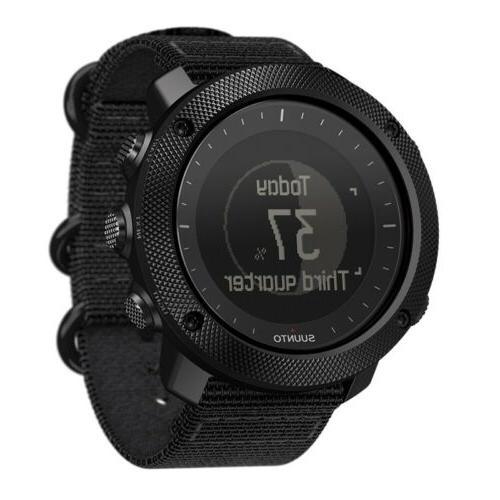 Suunto Stealth Mens GPS Outdoor Fish & Hunting Black