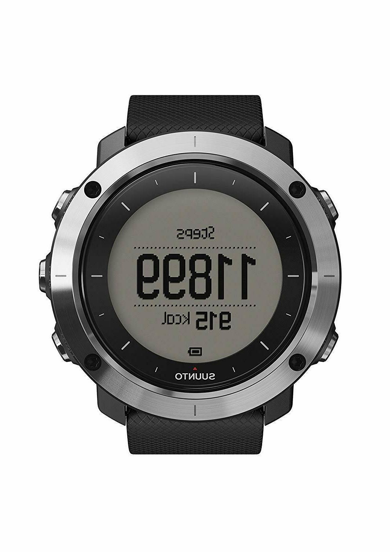 SUUNTO TRAVERSE BLACK Outdoor Watch SS021843000