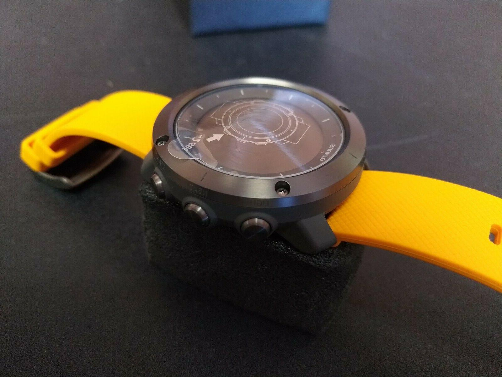 Suunto Traverse GPS Watch Amber