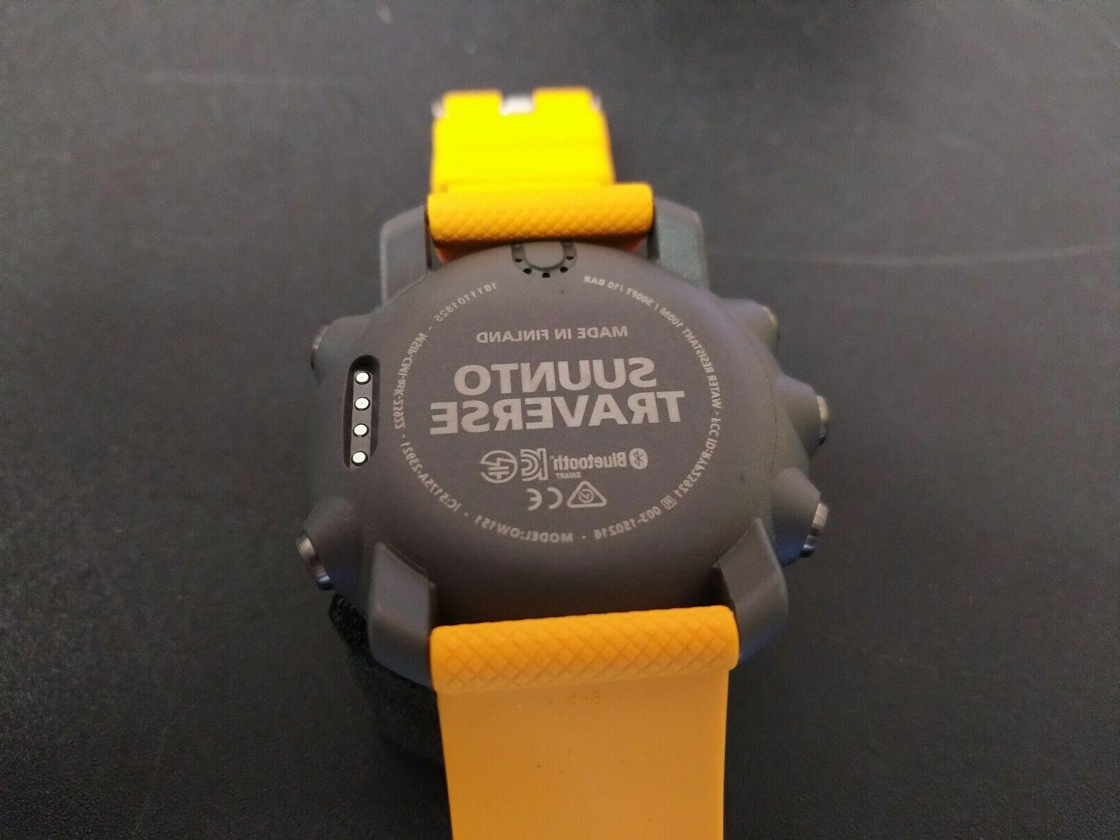 Suunto Traverse Watch Amber