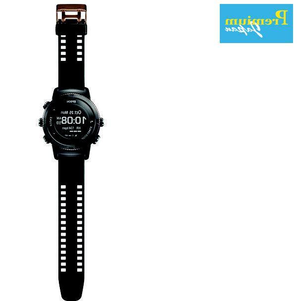 EPSON Wristable Digital Black Sapphire Japan