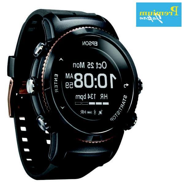 u 350bs wristable gps digital watch black