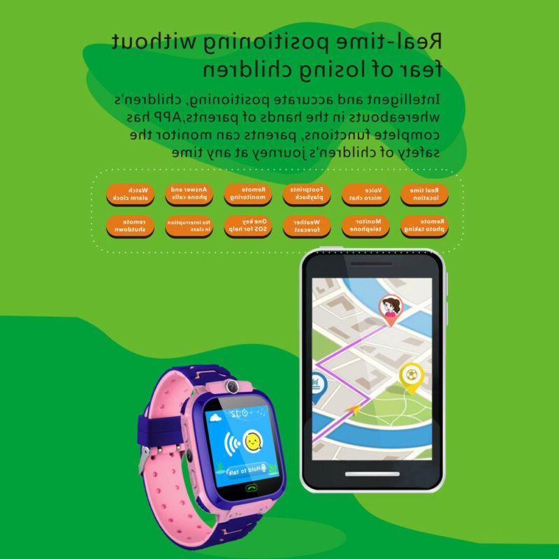 Kids Wrist Fashion New GPS Tracker For Boys With Camera