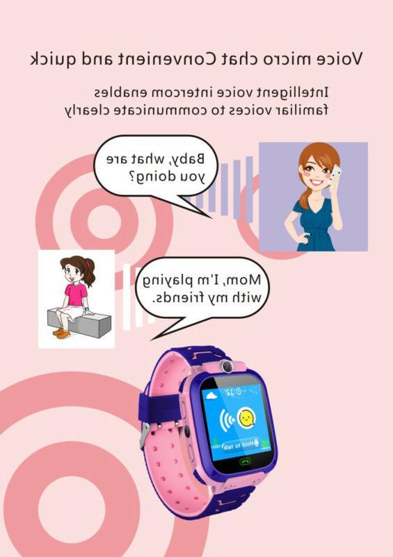 Kids Fashion GPS For Boys Camera