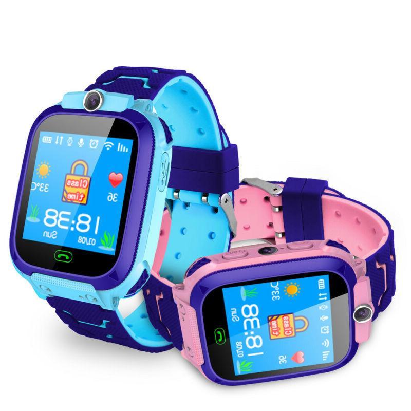 Kids Smart Fashion New GPS For Boys Camera