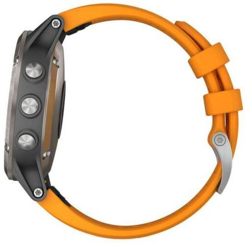 Garmin Unisex Smartwatch fēnix 5 Orange