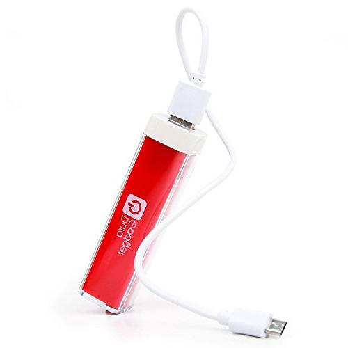 universal power bank bright red