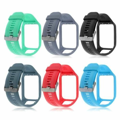 Silicone Wristband Watch Band Watch Band For TomTom Spark 3