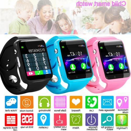 usa anti lost smart watch gps tracker