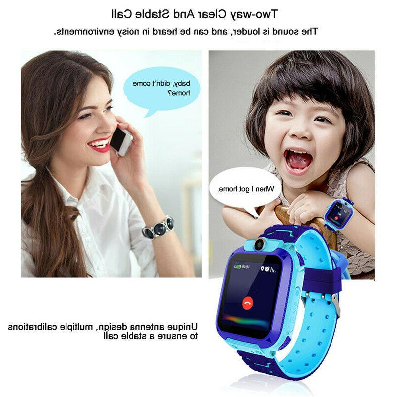 Anti-lost Smart Watch SOS Call GSM Camera Gifts Tracker Child Kids