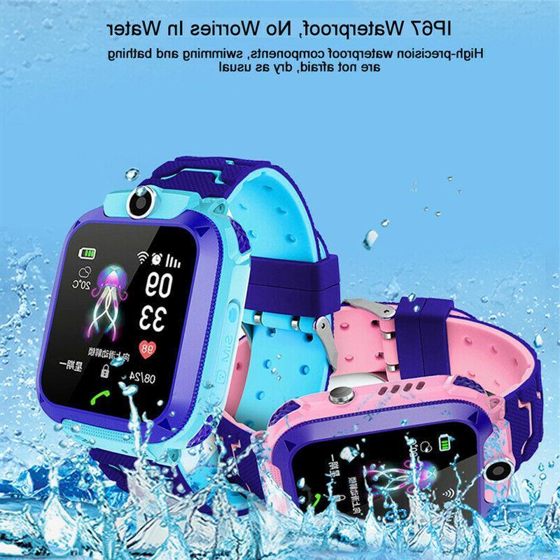 Anti-lost Smart Watch SOS Call SIM Camera Gifts Child Kids
