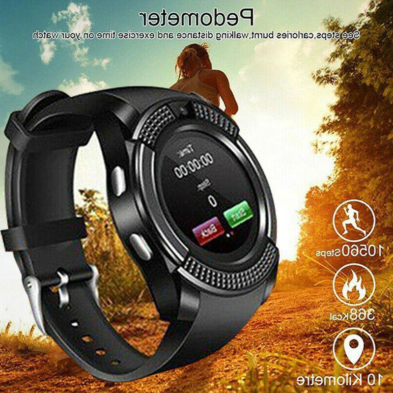 V8 Smart Waterproof SIM Camera Watches IOS