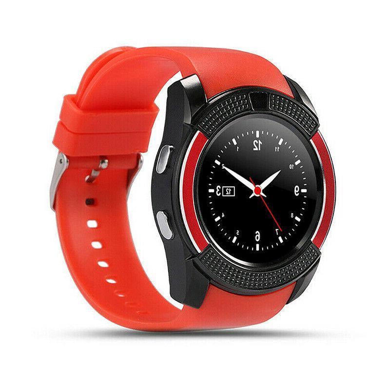 V8 Watch Waterproof SIM Camera Wrist Watches IOS