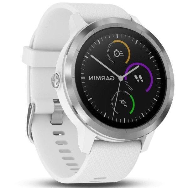 Garmin Vivoactive 3 Smart Activity Tracker White / Stainless