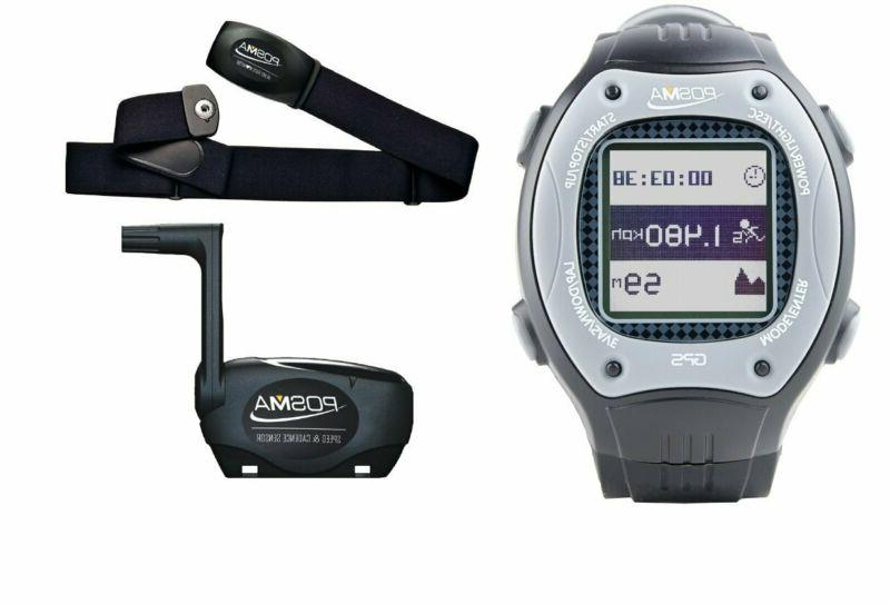 w3 gps multisport watch bundle with speed