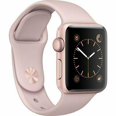 Apple Watch Series - 38mm - Aluminum Sport Band -