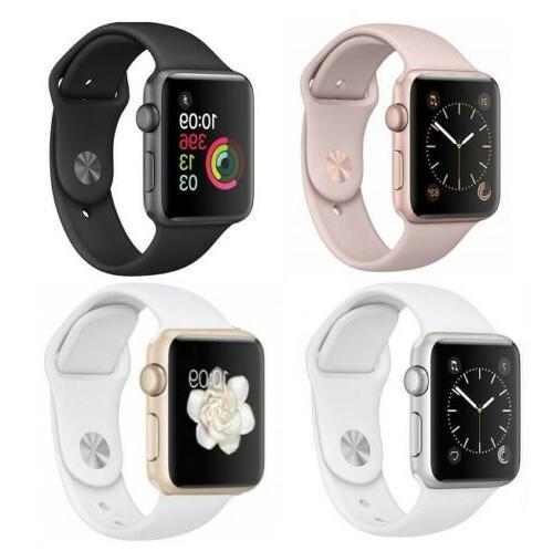 Apple Watch Series 2 42mm WiFi GPS Aluminum Case Sport Band