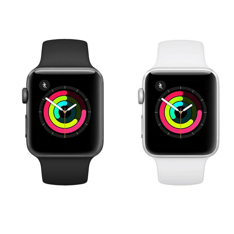 Apple Watch Series Sliver/Gray Aluminium Case with Sport