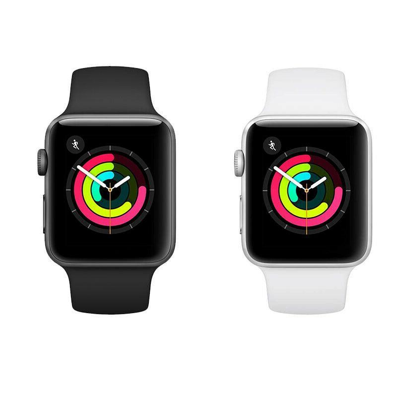 Apple Watch Series Sliver/Gray Aluminium Case with Sport