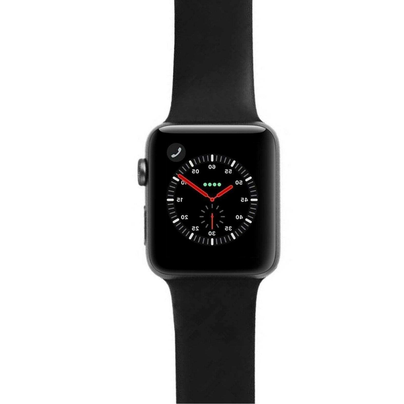 Apple Watch 42mm Aluminum Space GPS/Cellular