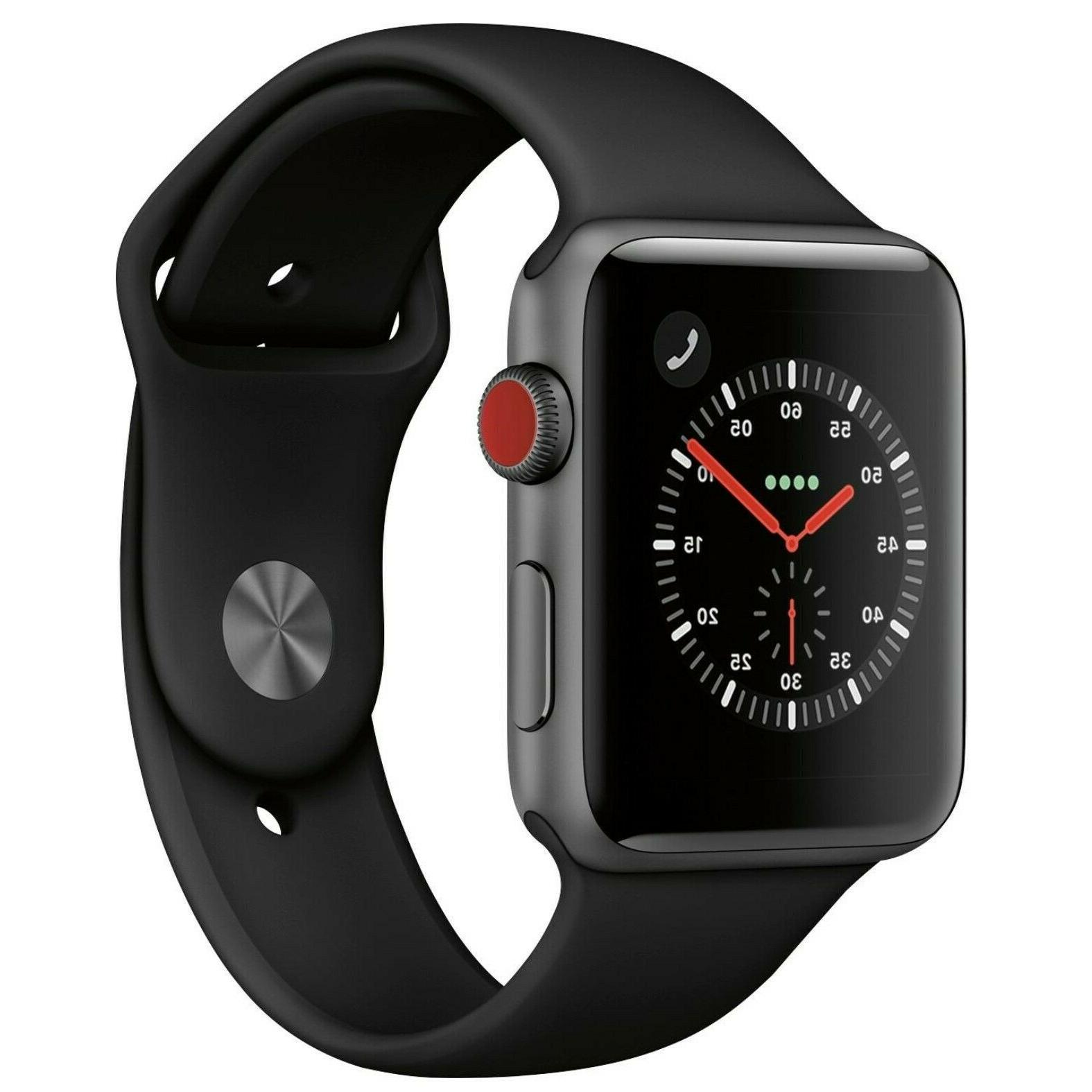 watch series 3 42mm aluminum space gray