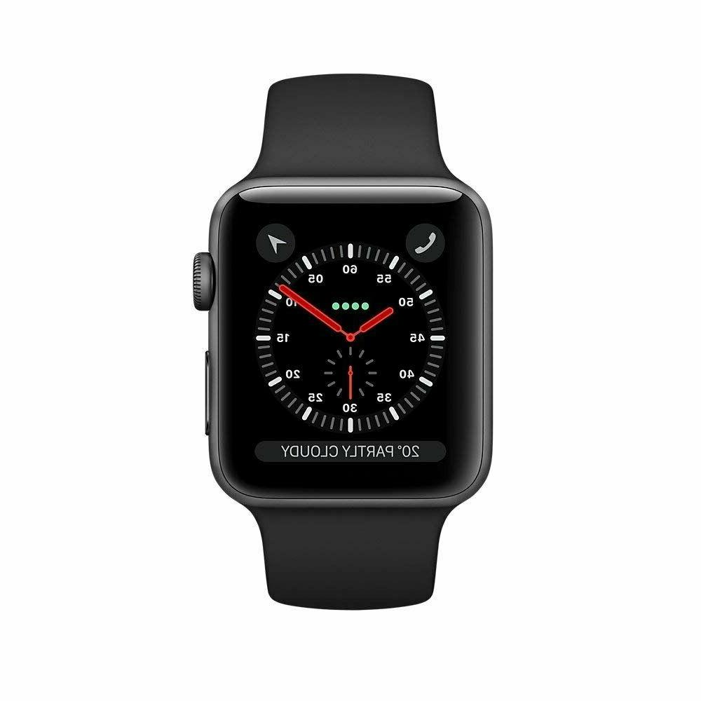 Apple Watch Series 3 42mm LTE Gray/Black Sport Band