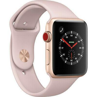 Apple Series 42mm WiFi GPS Cellular Aluminum Case Sport Smart Watch