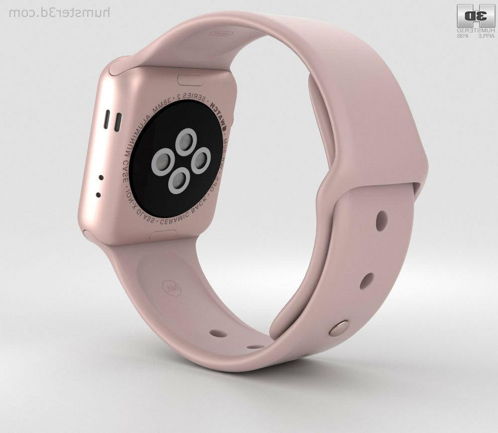 Apple Watch Series 3 38mm with Pink Sand Sport Band