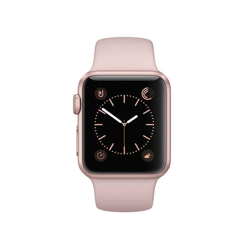 watch series 3 gold aluminium