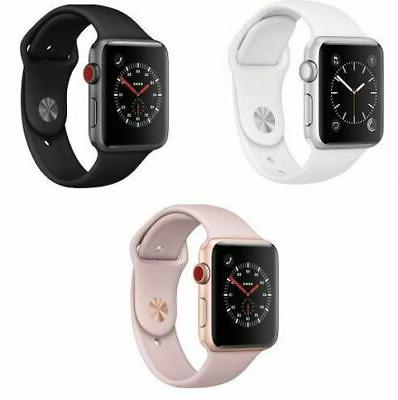 watch series 3 gps cellular aluminum 38
