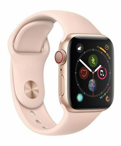 watch series 4 cell gps 40mm gold