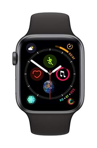 watch series 4 gps 44mm space gray