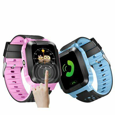 Anti-lost GPS SOS Smart Waterproof Watch For IOS