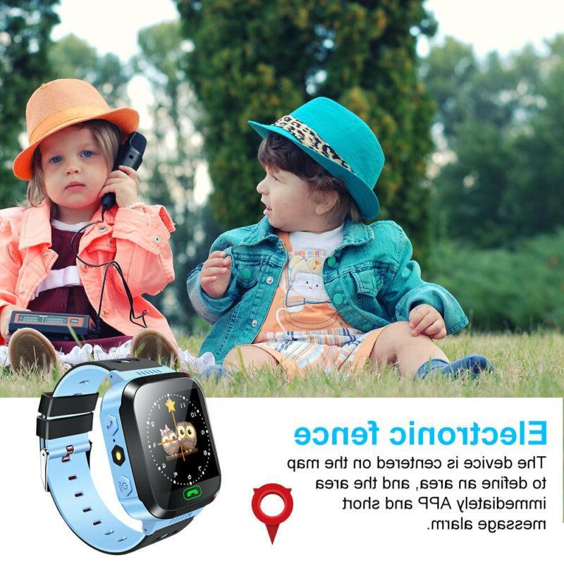 Waterproof GPS Tracker SOS Call Smart Watch iOS
