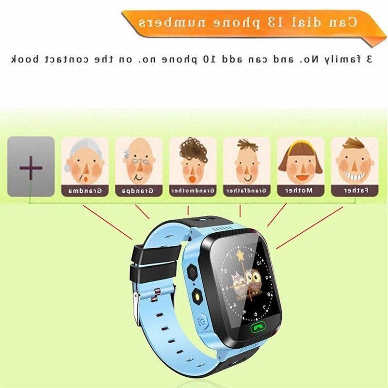 Waterproof Anti-lost Tracker Smart Watch For iOS