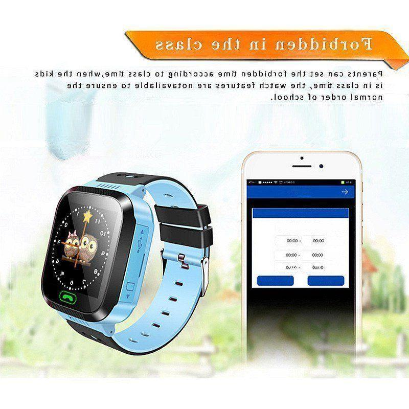 Waterproof Tracker SOS Kids Smart Watch iOS