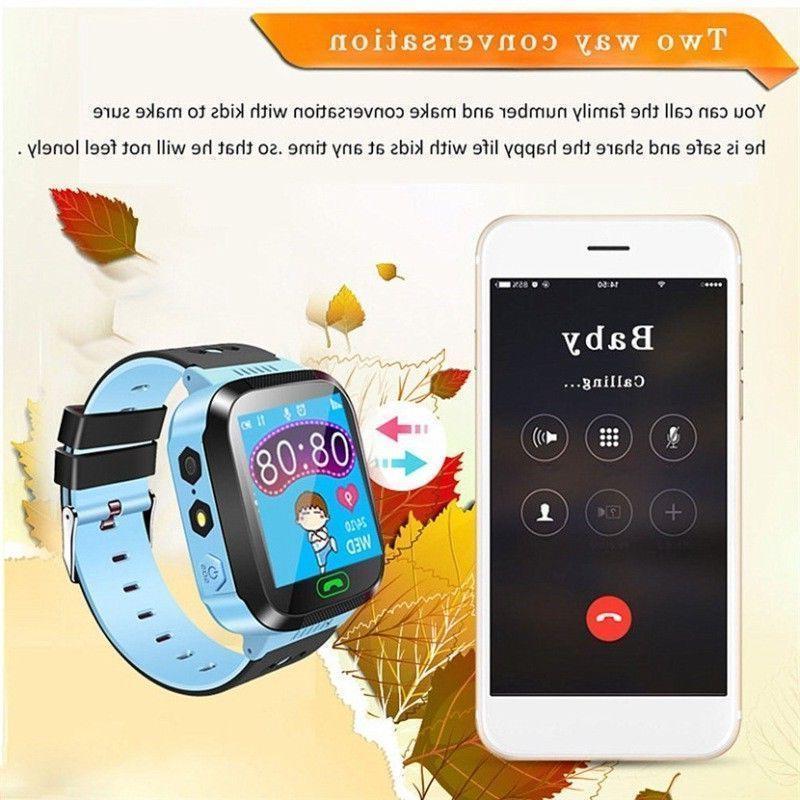 Waterproof Anti-lost Tracker Smart Watch iOS