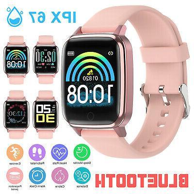 waterproof bluetooth smart watch women heart rate