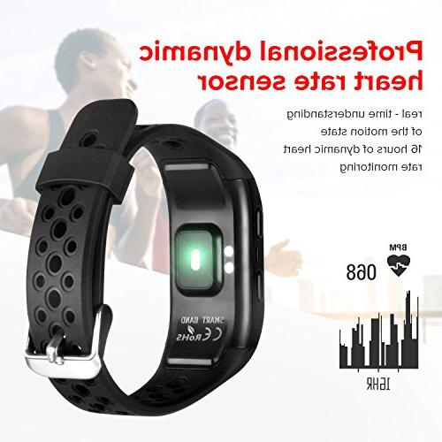 GooPhone Watch Heart Rate Sleep Monitor Activity Tracker Band Android