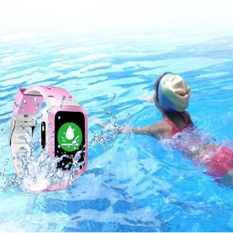 Waterproof Kids Watch Anti-lost SOS For
