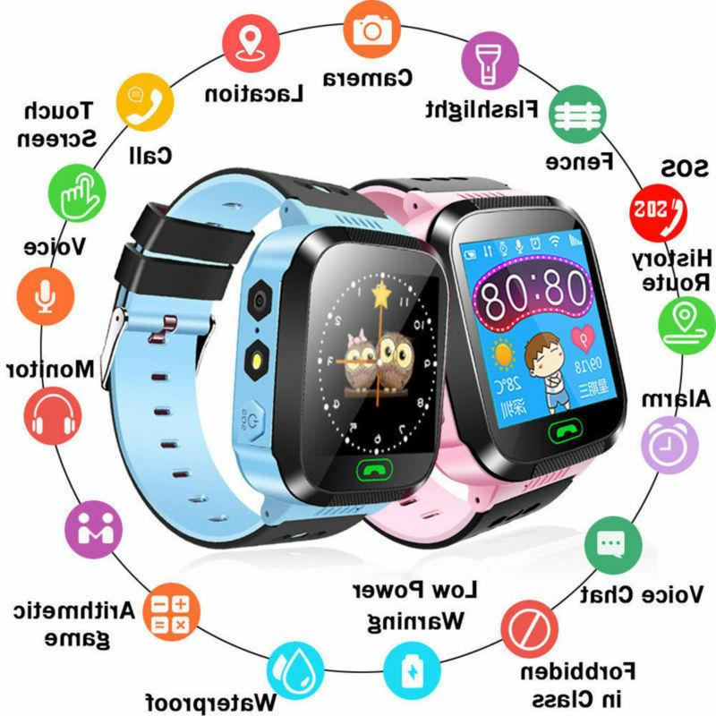 Waterproof Smart Kids Child SOS Call For